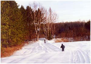 Scenic Ski Trail at Bear Crossing